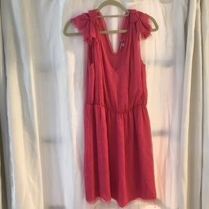 NWOT Silk Calypso St. Barth Hot Pink Mini Dress